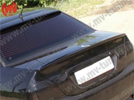 АБС-пластик Спойлер на крышку багажника низкий (лип) Lancer IX